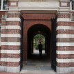 A gate to Harvard Campus